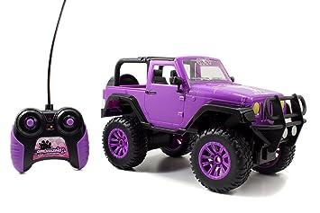 Amazon Com Jada Toys Girlmazing Big Foot Jeep R C Vehicle 1 16