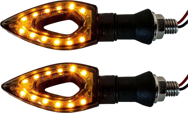 4x Naked Turn Signal Oz-usa Led Blinker Dual Sport