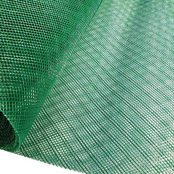 Suregreen 1, 2 m x 10 m Verde Insectos Malla (2 x 2 mm), Pantalla de plástico Fine Red. Fly, Avispas. Pest Control de Malla Rollos.: Amazon.es: Jardín
