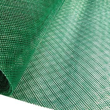 1 2mx 10m Green insect mesh (2x2mm), Plastic fine screen netting  Fly,  wasps  Pest control screening mesh rolls