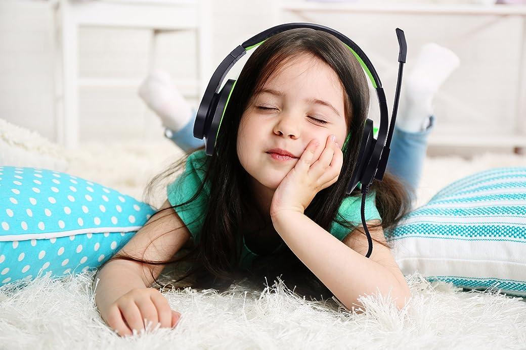 BlueFire Cascos PS4 Auriculares Gaming con Microfono Unidireccional (Verde)