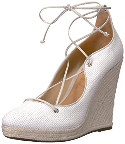 e5ff60ae8c Image Unavailable. Image not available for. Color: Schutz Women's Lunna,  Branco/Pearl, ...