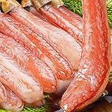 プレミアムずわい蟹ポーション 1kg 食の達人森源商店 太脚棒肉100% お刺身で食べられるズワイガニ (20本×2)
