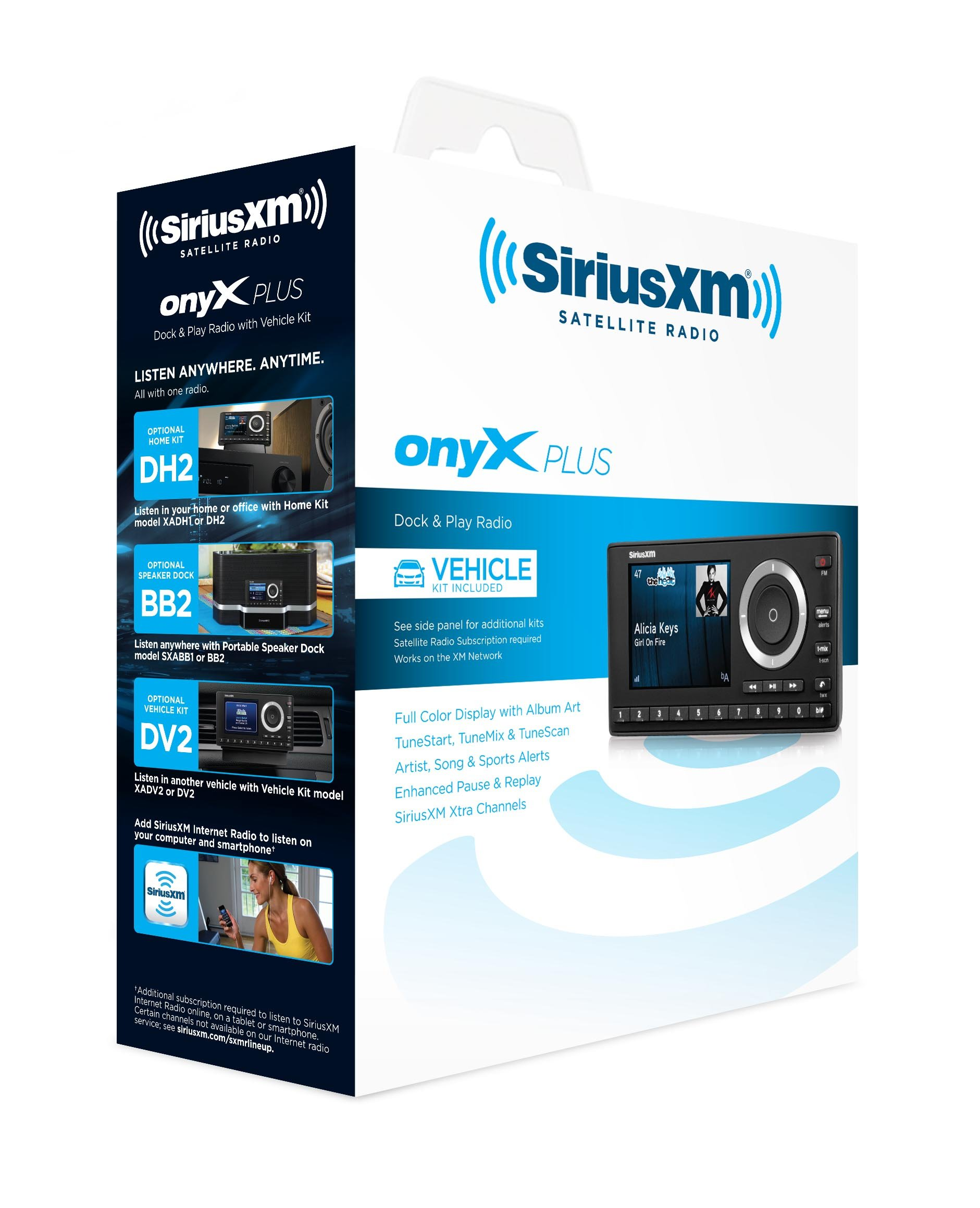 SiriusXM SXPL1V1 Onyx Plus Satellite Radio with Vehicle Kit with Free 3 Months Satellite and Streaming Service by SiriusXM (Image #7)