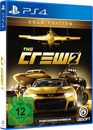 The Crew 2 - Gold Edition (inkl. Season Pass) - PlayStation 4 ...