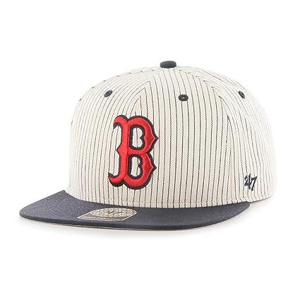 cc1c765a935 Amazon.com    47 MLB Boston Red Sox Woodside Captain Adjustable ...