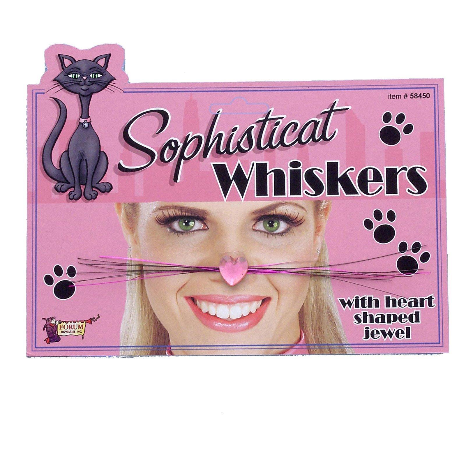Forum Novelties Sophisti-Cat Whiskers