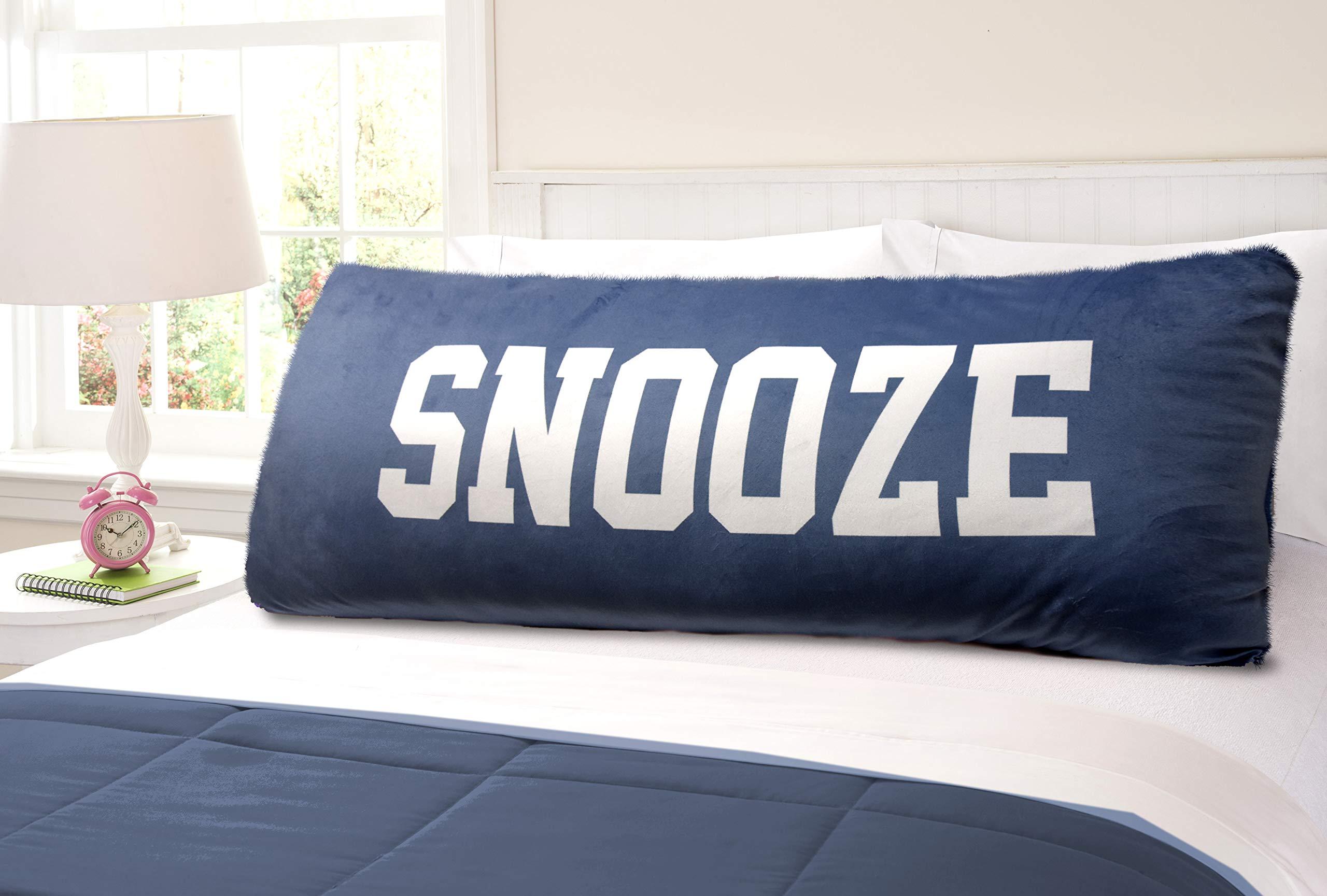 Pop Shop Snooze Body Pillow, Blue, 20x48