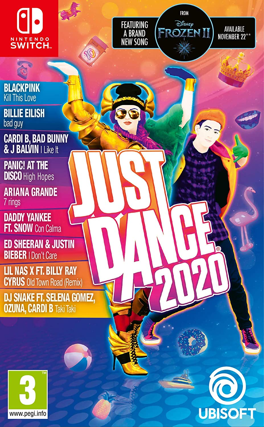 Amazon Com Just Dance 2020 Nintendo Switch International Edition Video Games