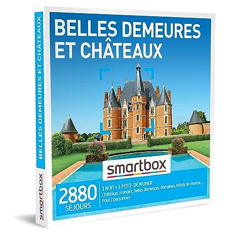 Smartbox Coffret Cadeau Homme Femme Couple Belles Demeures Et Châteaux Idée Cadeau 2880 Séjours Châteaux Manoirs Belles Demeures Domaines