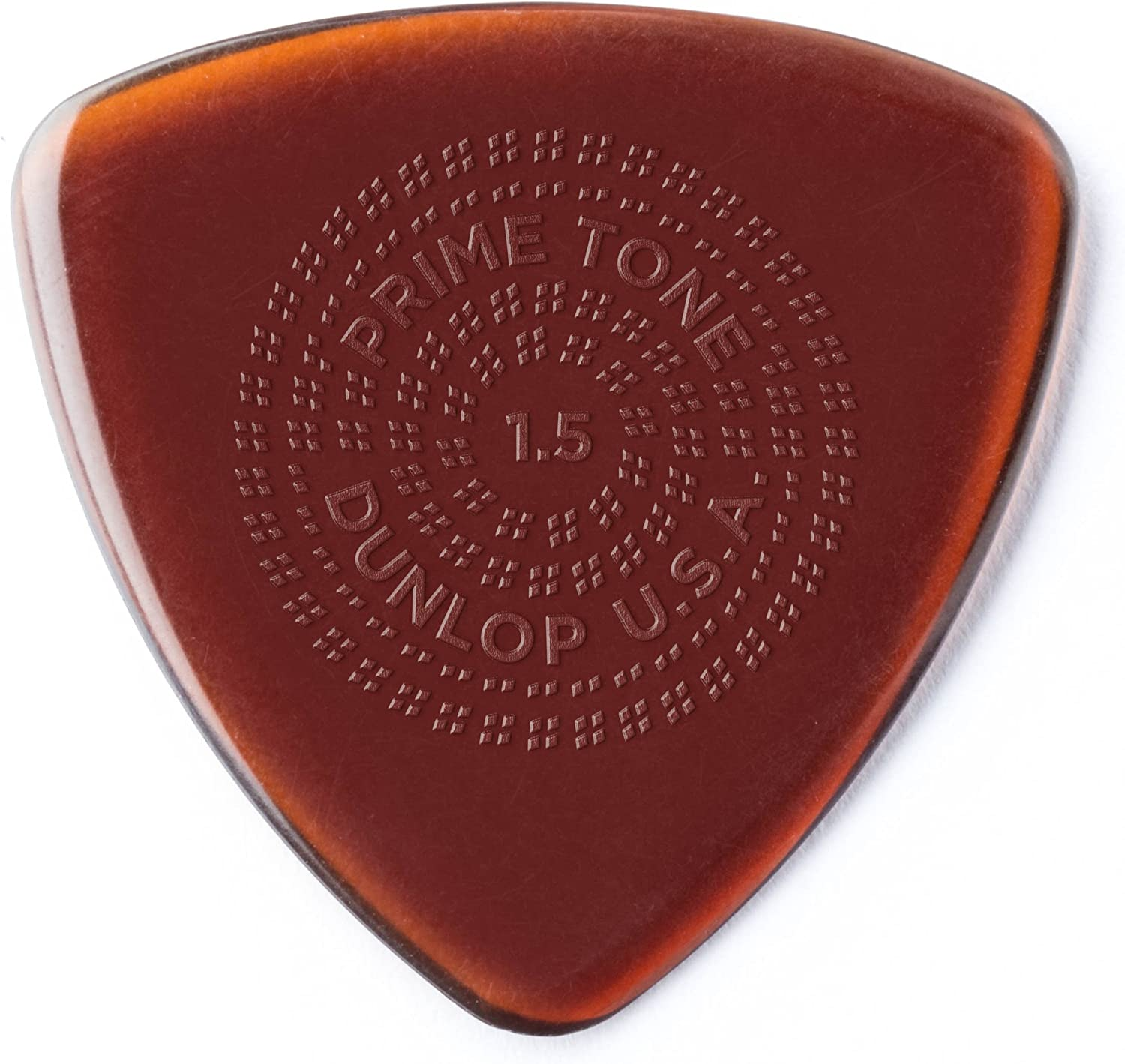 3//Players Pack Dunlop 512P1.4 Primetone/® Triangle Sculpted Plectra with Grip 1.4mm