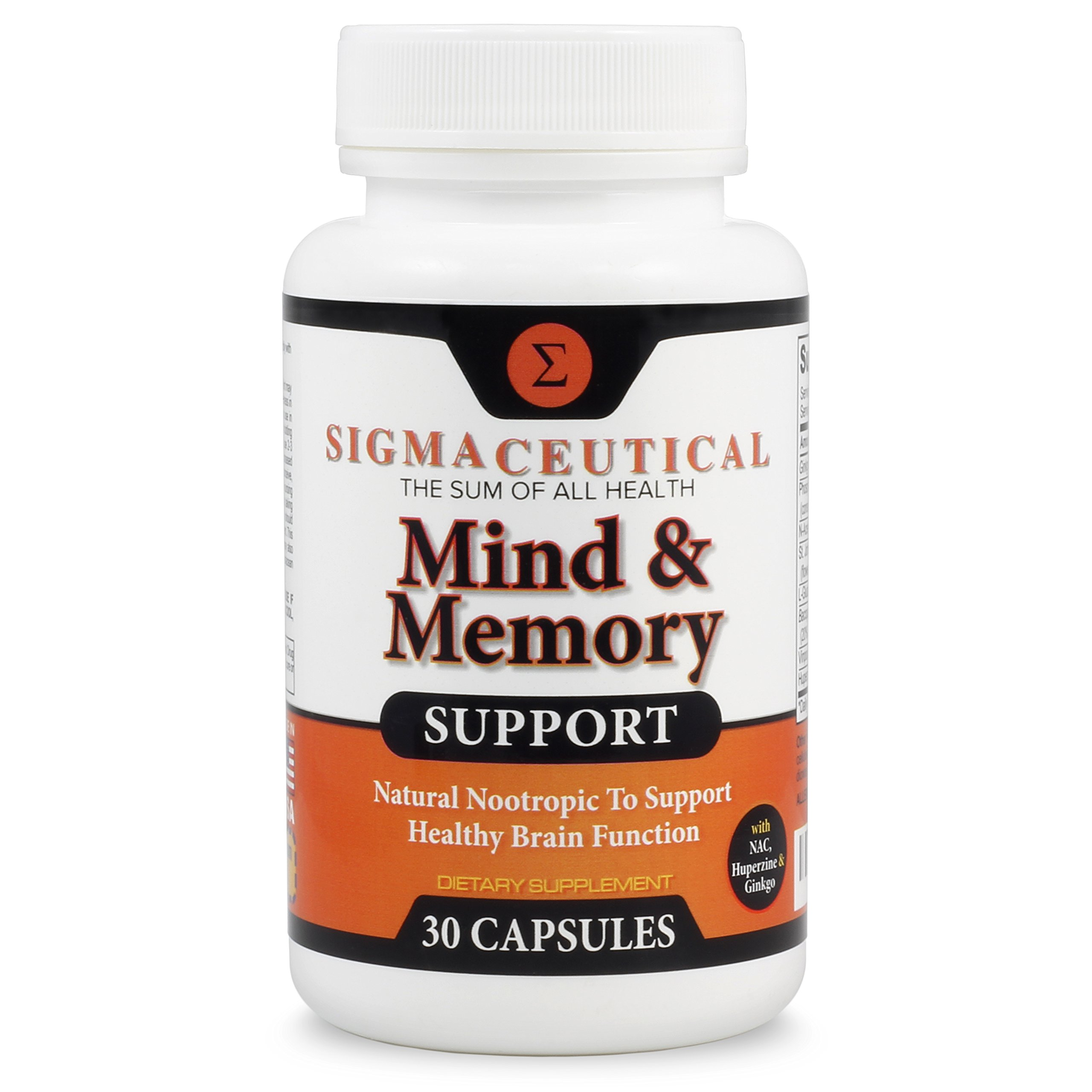 Galleon Memory Support Supplement And Brain Booster Natural
