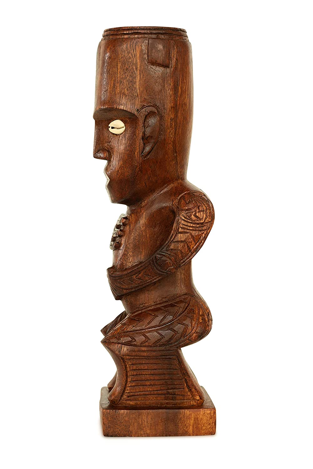 Amazon.com: g6 collection handmade wooden primitive tattoo face