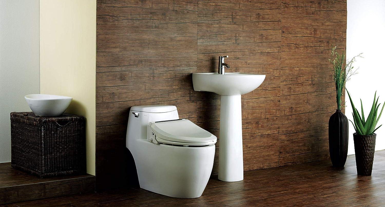 Bio Bidet Ultimate BB-600 Advanced Bidet Toilet Seat, Round White ...