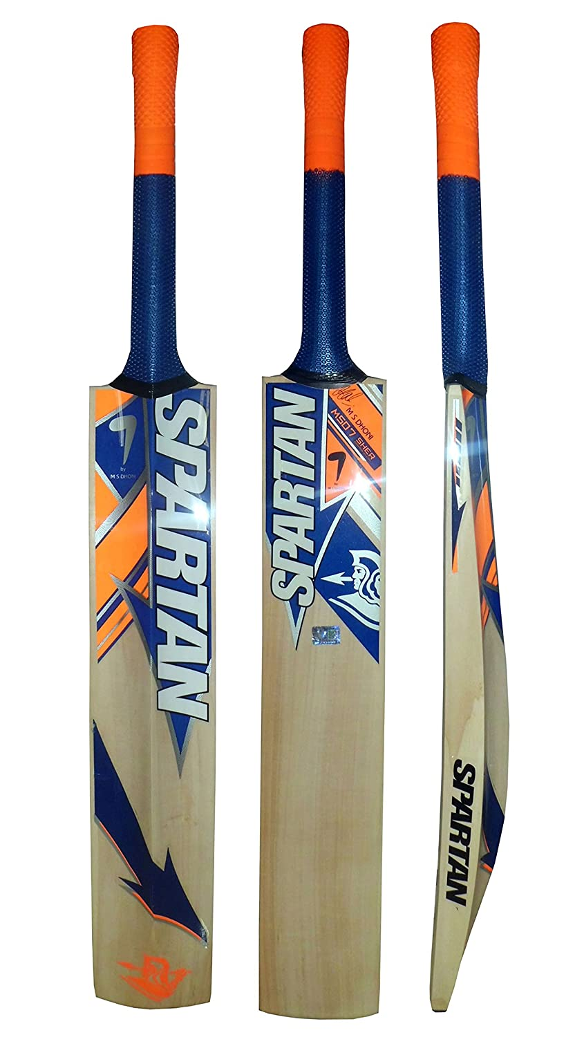 Spartan MSD 7 Sher Edition Limitée Kashmiri Saule Wood Cricket Bat - Carry Case Spartan Sports