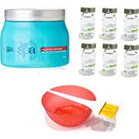 L'Oreal Paris Hair Spa - Set of 9 (Repairing Mask, Hydrating Ampoules, Mixing Bowl, Dye Brush) with Ayur Product in Combo