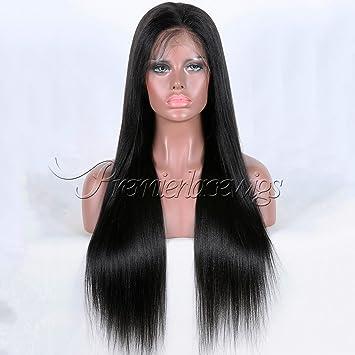 Brazilian Remy Human Hair Glueless Full Lace