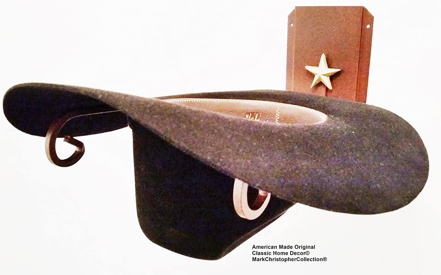Mark Christopher Collection American Made Cowboy Hat Holder Star 89 CT Classic Home Decor 89 STAR CT