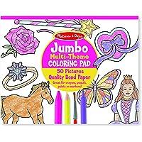 Melissa & Doug Bloc gigante multi-tematico para colorear