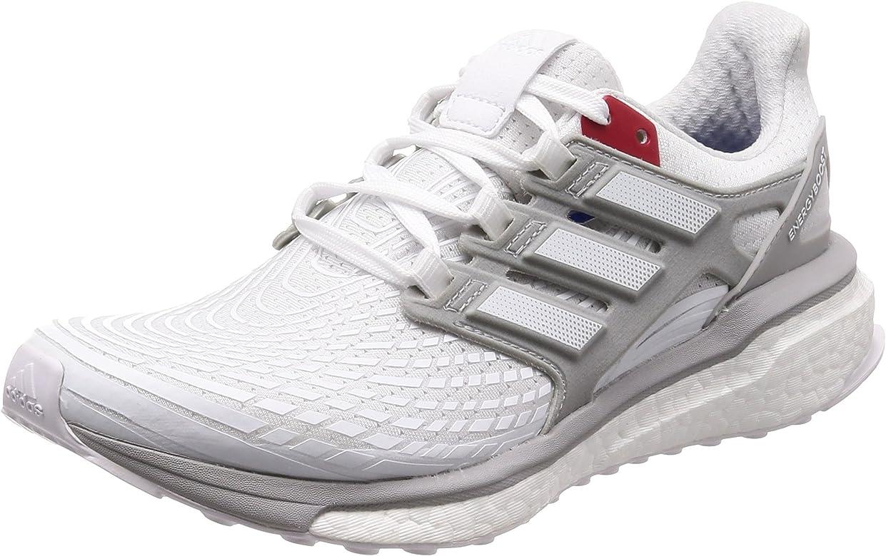 Adidas Energy Boost Aktiv, Zapatillas de Trail Running para Hombre, Blanco (Ftwbla/Gridos/Escarl 000), 38 2/3 EU: Amazon.es: Zapatos y complementos