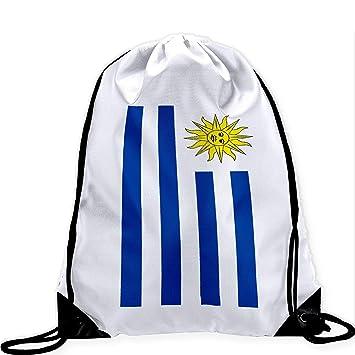 9ec0fd47e Doormats-shirt Bolso Grande con Cordón con Bandera de Uruguay - Muchos  Diseños - Imagen Vibrante de Larga Duración: Amazon.es: Deportes y aire  libre