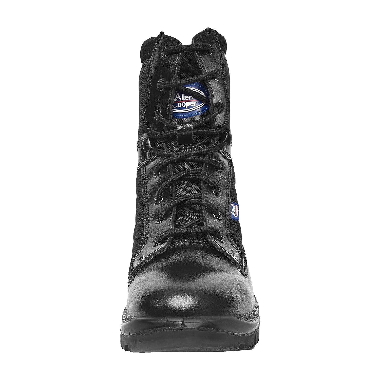 Buy Allen Cooper Unisex Leather Combat