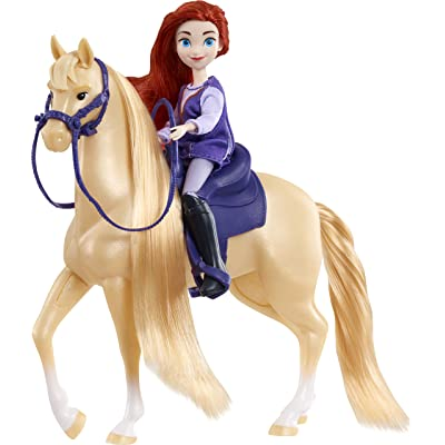 DreamWorks Spirit Riding Free Collector Doll & Horse - Maricela & Mystery: Toys & Games