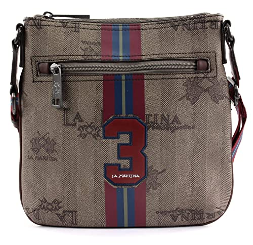 1e746defc8 LA MARTINA Reconquista Man Cross Body Bag with Zip Incense/Bison / Chain:  Amazon.co.uk: Shoes & Bags