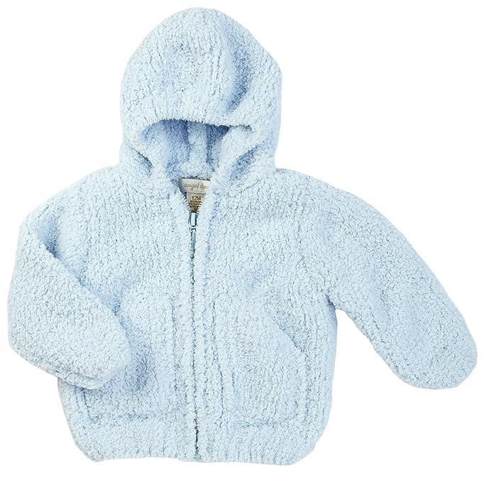 725bb7ec3 Angel Dear Unisex Child Fleece Zip Hoodie - Light Blue - 2T  Amazon ...