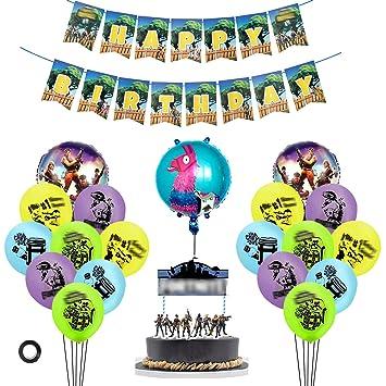 Brilliant Dzh Enjoy Birthday Party Supplies Fur Spielefans 23Er Pack Gaming Funny Birthday Cards Online Alyptdamsfinfo