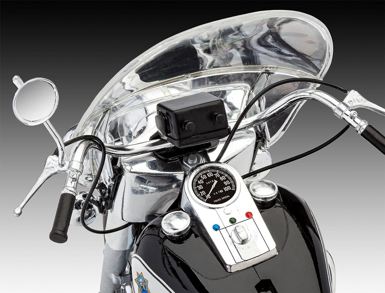 Revell 80-7915 US Police Motoorbike Model Kit Building