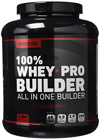 100% Whey Pro Builder 4lbs (1814 g) Chocolate: Amazon.es: Salud y cuidado personal