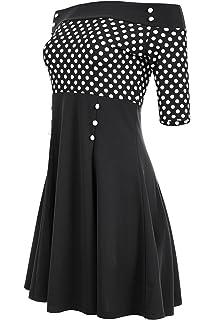 32cd19afb4e986 Atixo Vintage-Kleid: Amazon.de: Bekleidung