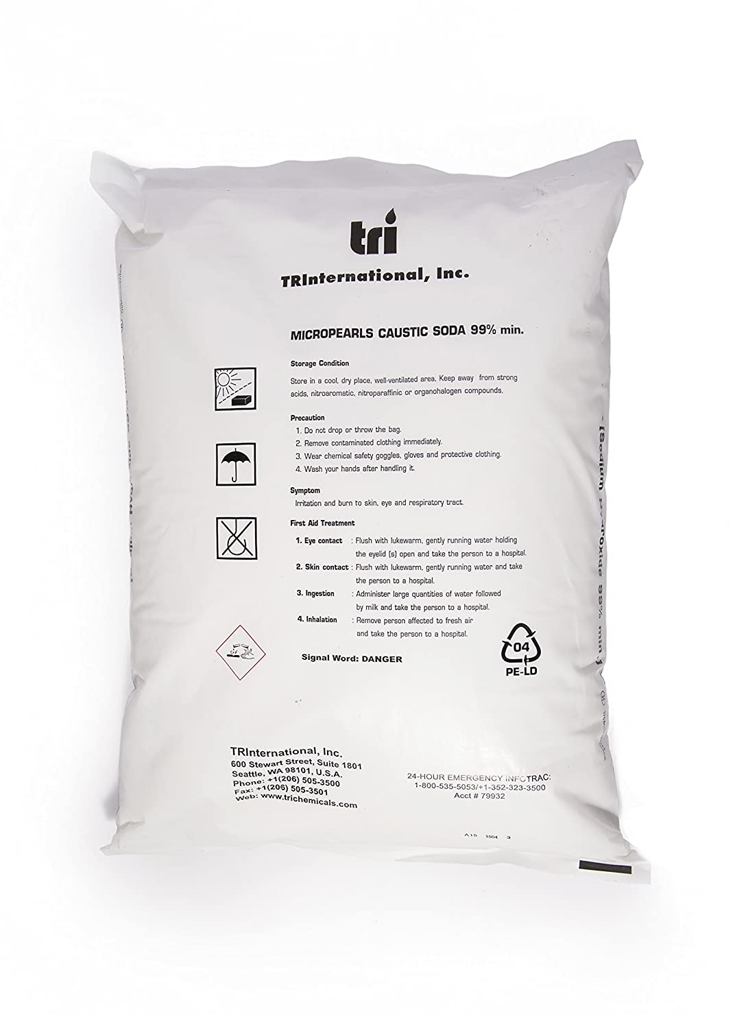 Purchase Caustic Soda from TRI at Amazon.com