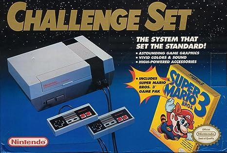 Amazon Com Nintendo Nes Console Challenge Set Unknown Video Games