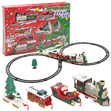 Christmas Train Set.Christmas Train Set Amazon Co Uk Toys Games