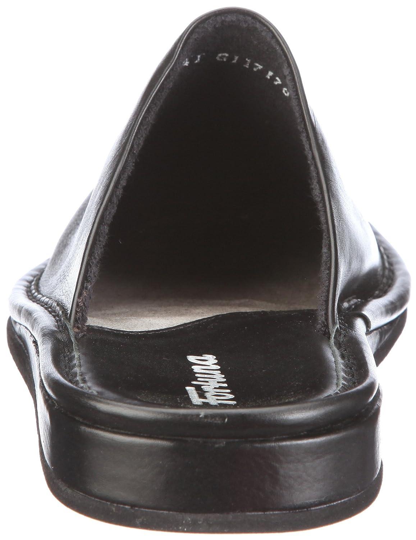 Fortuna F/üssen Flex 438001-02 Zapatillas de casa de Cuero para Hombre