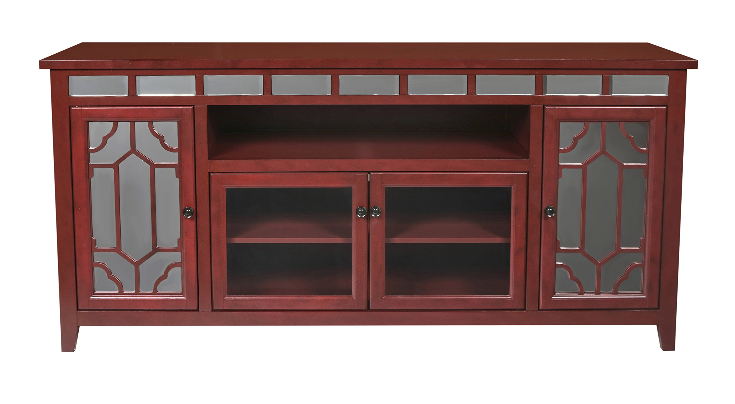 New Classic Gable 72'' Red End Unit by New Classic FURNITURE