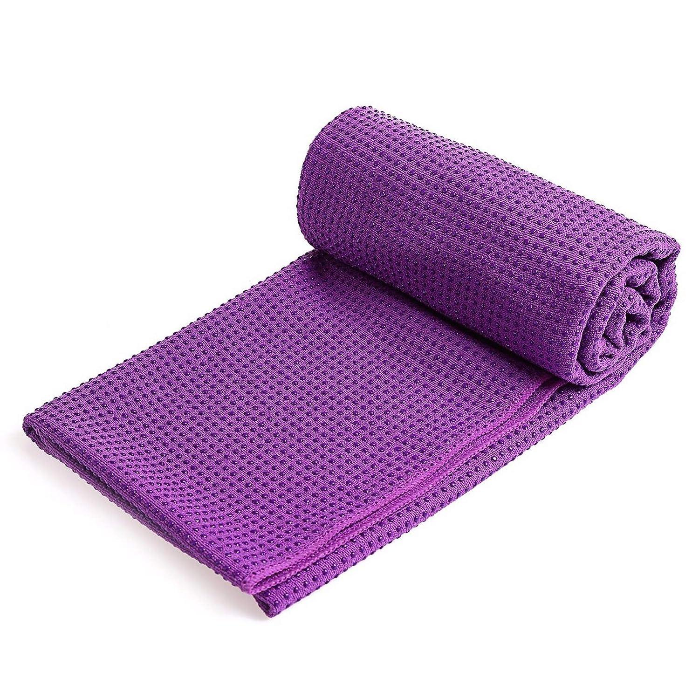 Amazon.com: JKBDNB Yoga Towel, Hot Yoga Towel Non-Slip Yoga ...