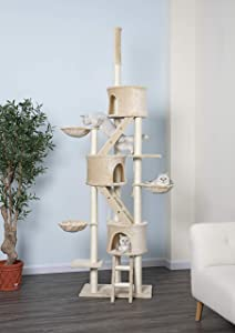 Go Pet Club Huge Cat Tree Beige