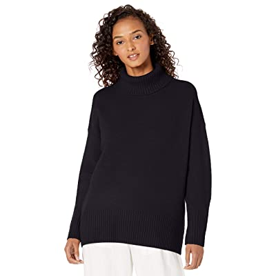 Brand - Daily Ritual Women's Cozy Boucle Turtleneck Sweater: Clothing