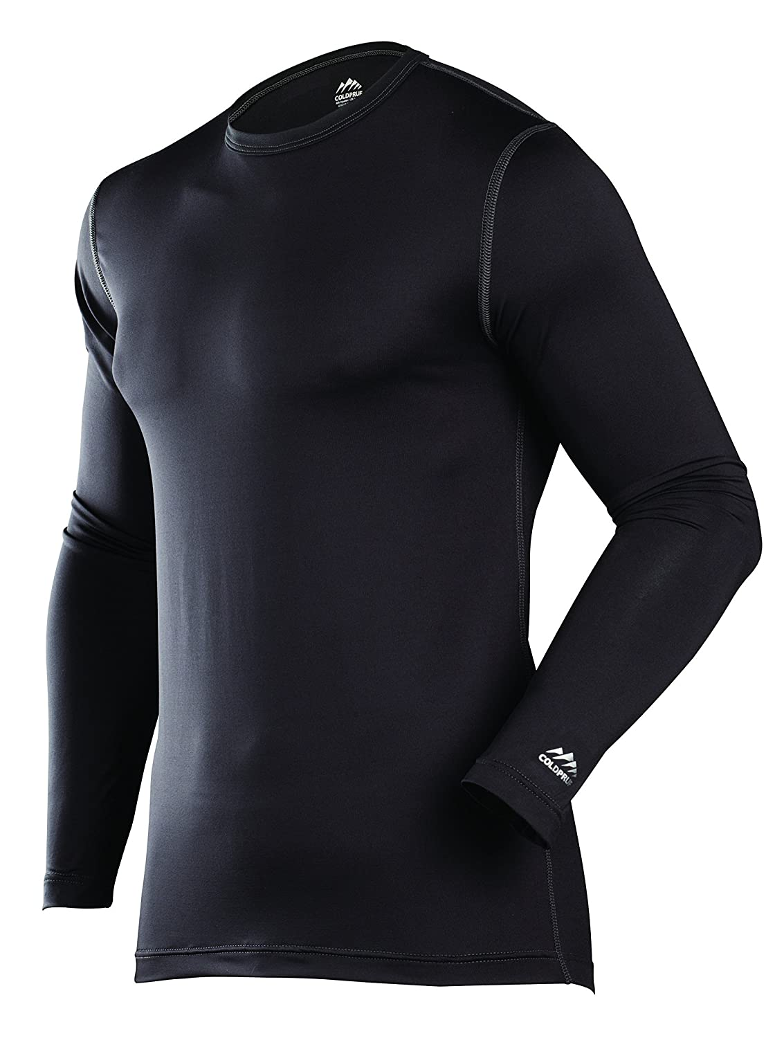 ColdPruf Mens Premium Performance Single Layer Long Sleeve Crew Neck Top ColdPruf Baselayer