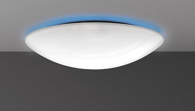 Plafoniere Da Salotto : Plafoniera lampada da parete soffitto tonda 2xe27 led diam.46cm