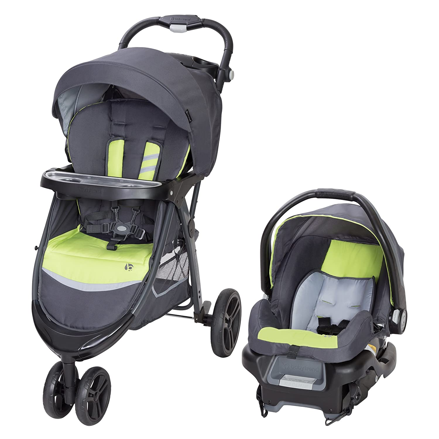 Baby Trend Skyline 35 Travel System, Starlight Pink TS42C01A