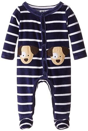 7a65a88c6b Amazon.com  Mud Pie Baby Boys  Puppy Footed One Piece  Clothing