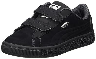 35c75f1e541f24 Puma Unisex Kids  Jl Batman Basket V Ps Trainers  Amazon.co.uk  Shoes   Bags