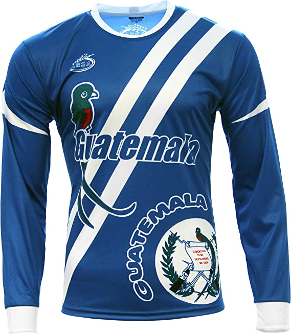 Arza Sports Guatemala Mens Soccer Jersey