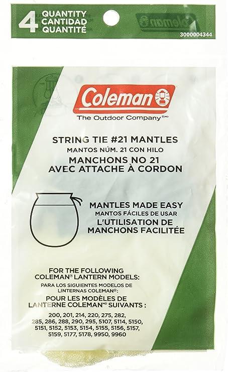 Coleman # 21A102 2P STD 2 Lant Mantle