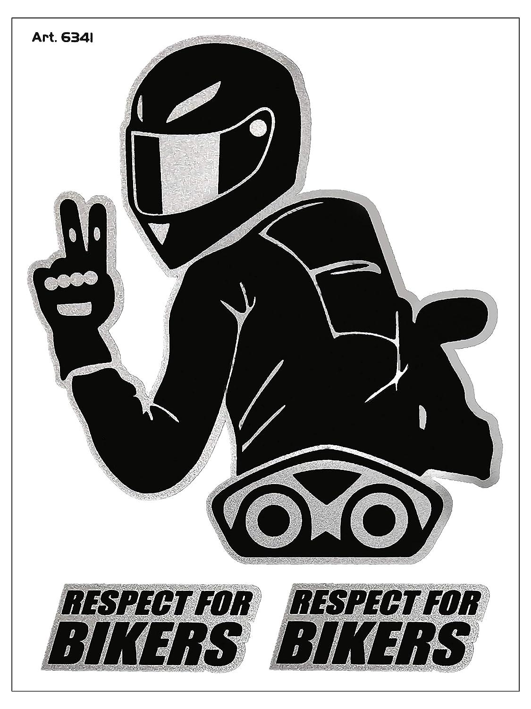 Villa D 6341/Adhesivo Respect for Biker