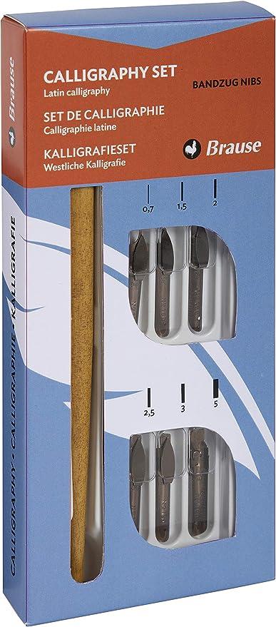 Brause 141B - Caja de 6 plumas estilográficas: Amazon.es: Oficina y papelería